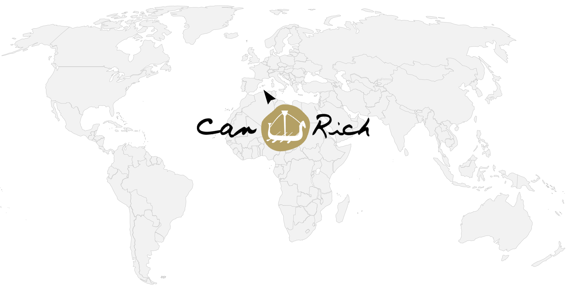 Weltkarte Can Rich