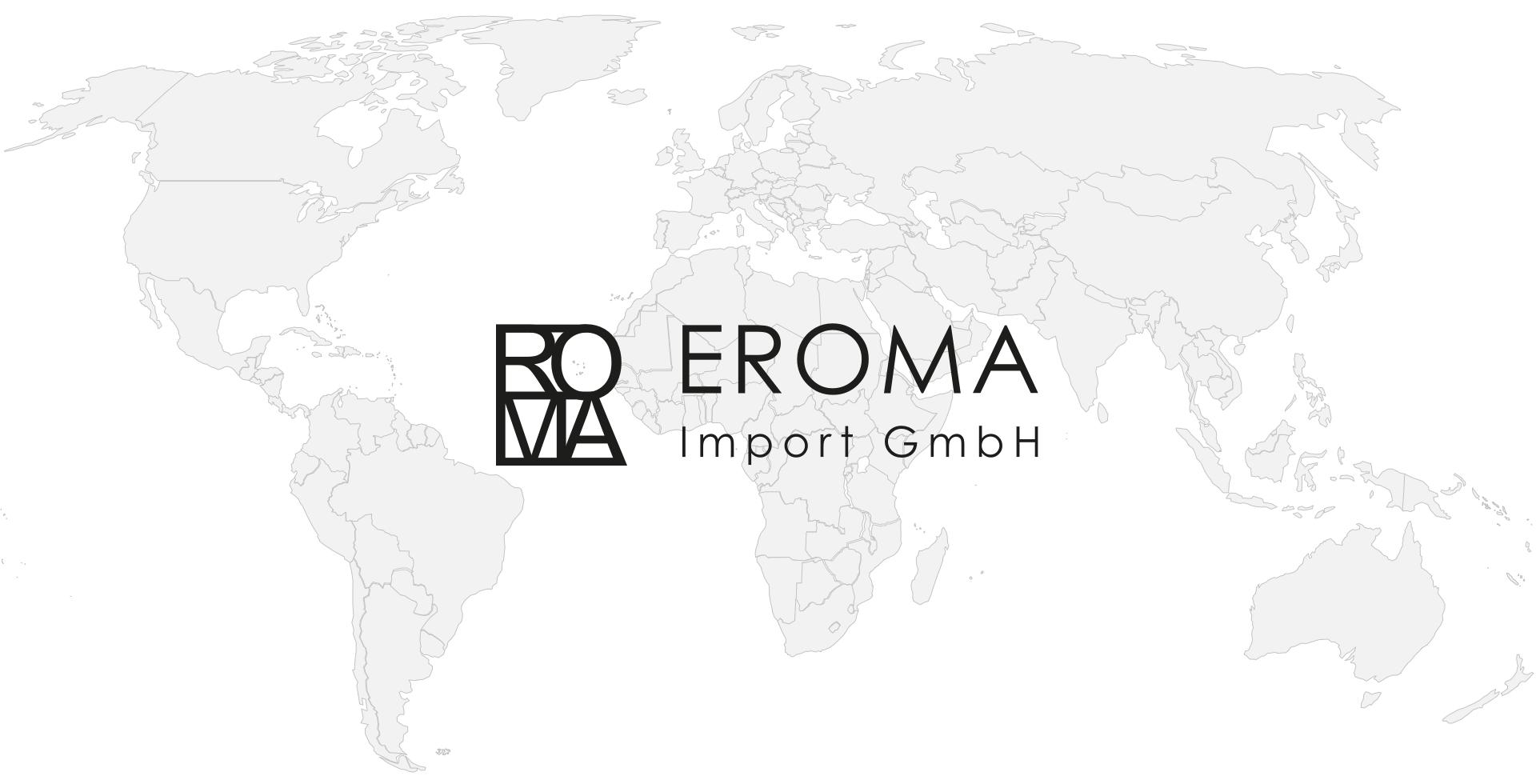 Weltkarte EROMA Import AG